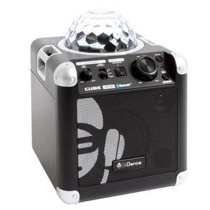 RADIO CD ENFANT I-DANCE PARTY Enceinte Tout en Un Cube BC10 Noir