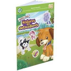 LIVRE INTERACTIF ENFANT LEAPFROG Mon Lecteur Tag Copains Canins