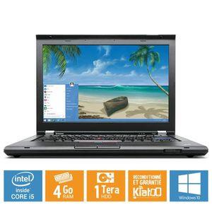 Achat PC Portable Ordinateur portable Lenovo Thinkpad t420  core i54go ram 1to disque dur,windows 10,pc portable reconditionné pas cher