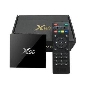 BOX MULTIMEDIA MEMOBOX X96 TV Box DDR3 1G eMMC 8G Android 6.0 Mar