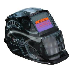 Utiliser Energie Solaire pour Recharge AUDEW Masque De Soudure Cagoule Casque Soudage Solaire Automatique Protection de Visage Cr/âne