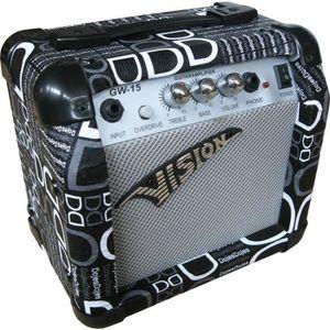 AMPLIFICATEUR AMPLI Guitare électrique design noir et blanc 15 W
