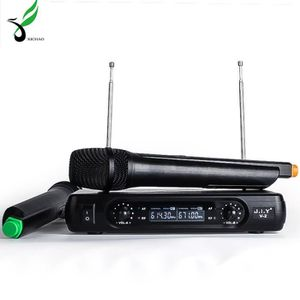 MICROPHONE - ACCESSOIRE XICHAO microphone sans fil 2 micros portables + 1