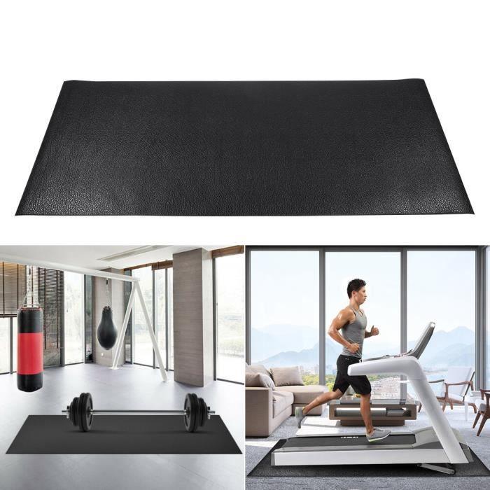 Tapis de tapis roulant grand tapis de protection de plancher d'exercice de gymnastique de forme physique (petit) -RAI