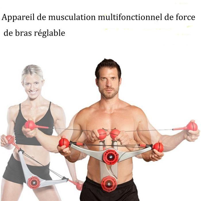 Appareil de musculation multifonctionnel de force de bras réglable