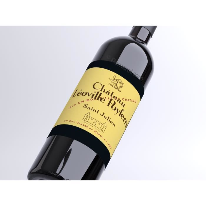 X6 Château Léoville Poyferré 2017 - AOC Saint-Julien - 2ème Cru Classé - vin rouge - Bouteille (0,75cl)