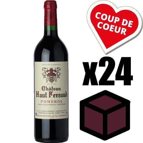 X24 Château Haut Ferrand 2009 Rouge 75 cl AOC Pomerol Vin Rouge