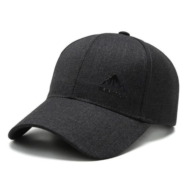 CASQUETTE Homme - Chapeau d'extérieur à la mode de style coréen - gris QW™