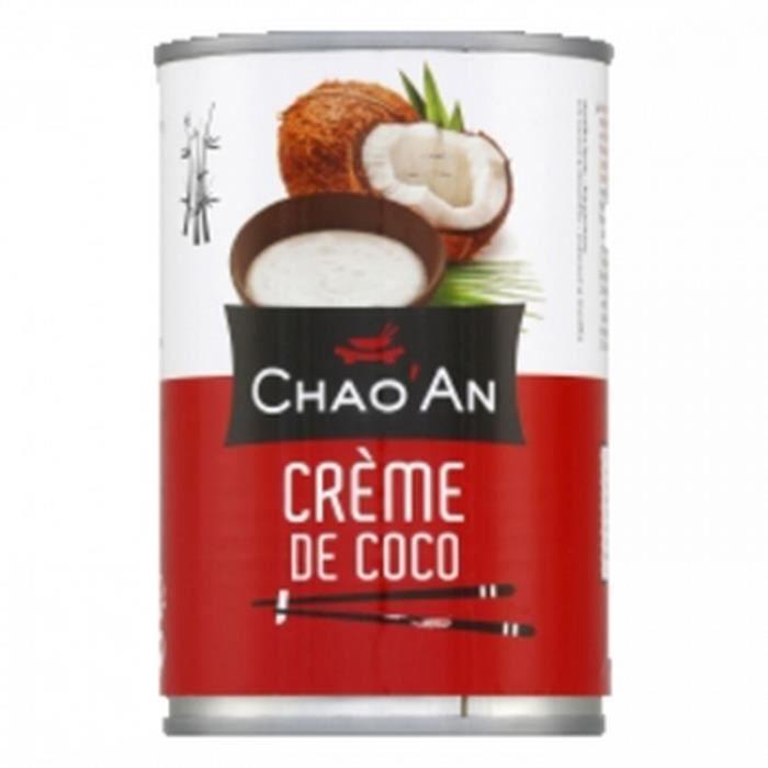 Crème de coco - Chao'an - boîte 400ml