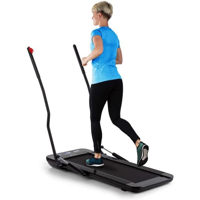 TAPIS DE COURSE Capital Sports Workspace GO Swing - Tapis de Course de Bureau et entra&icircnement Complet, 550 W, Hauteur 12 c20