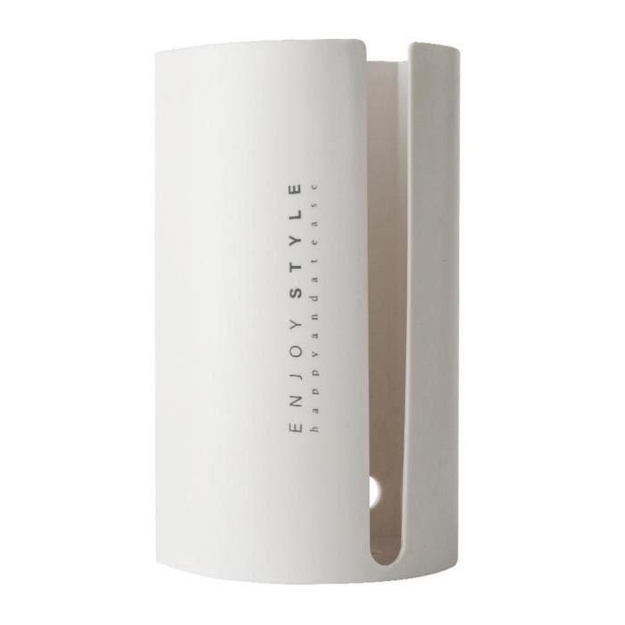 Boîte à mouchoirs adhésive avec couvercle, distributeur mural pour la cuisine et la salle de bains, nouveauté 2020