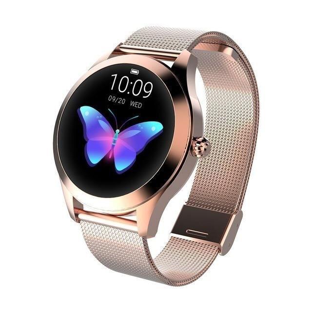 sommeil et de fréquence cardiaque , montre intelligente, smartwatch étanche IP68, se connectant aux téléphones iOS et Android