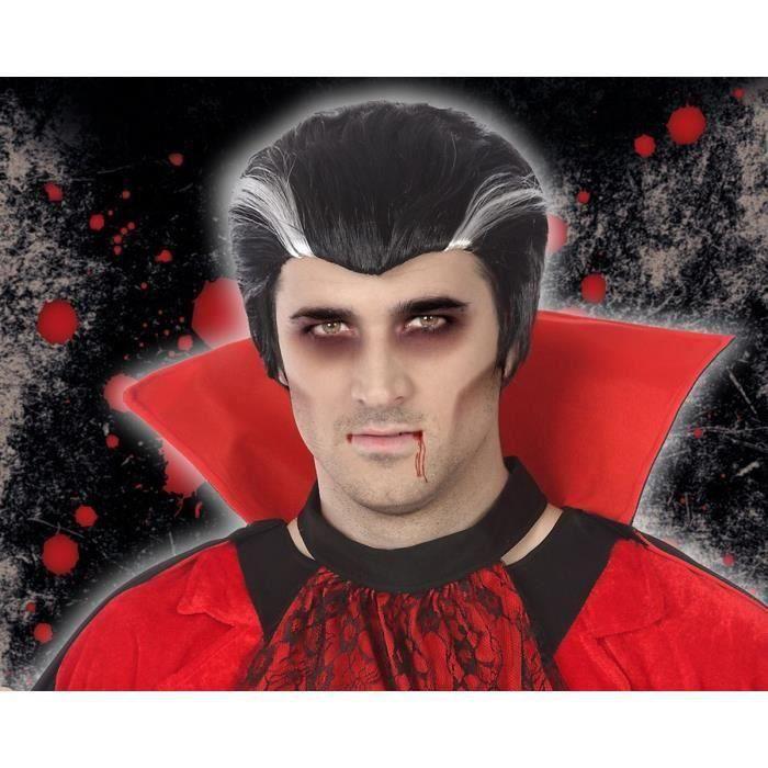 Perruque vampires Adultes Hommes (Lot de 3)