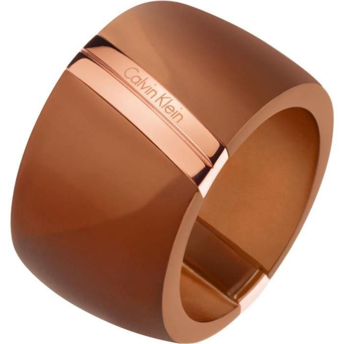 Calvin Klein Jewelry Visionary KJ2RCR2902 Bague pour femmes Point Culminant de Design [54 / 7]