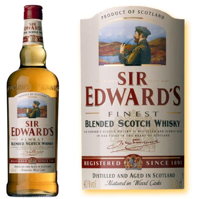 Blended scotch whisky 700 mL Sir Edward's