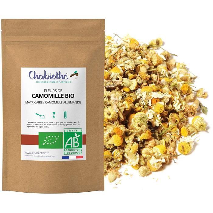 Fleurs de Camomille Bio 200g CHABIOTHE