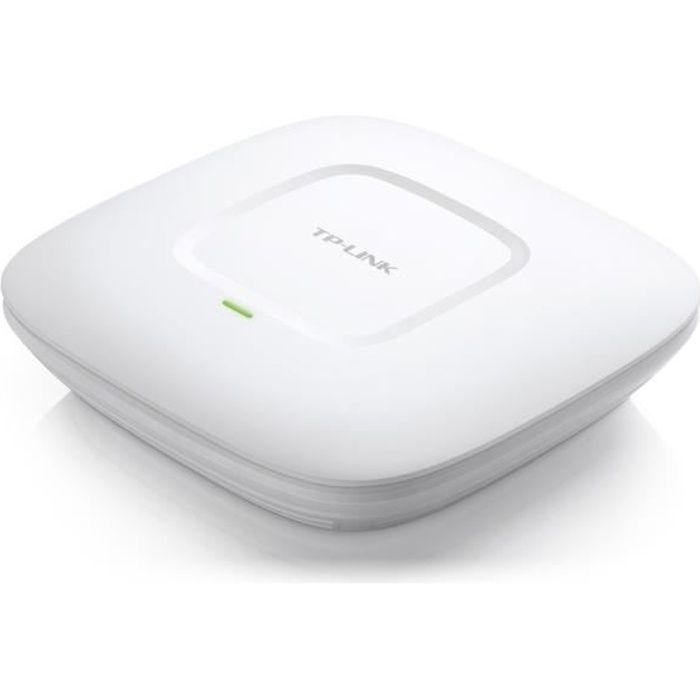 TP-LINK - EAP225 - Point d'Accès WiFi Double Bande AC1200 PoE Gigabit - Plafonnier