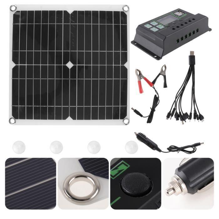 1 Set 200W Panneau Solaire Extérieur de l'Énergie kit photovoltaique - kit solaire genie thermique - climatique - chauffage
