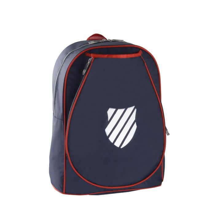 K-SWISS Sac de tennis Backpack JR Ibiza - Bleu et rouge
