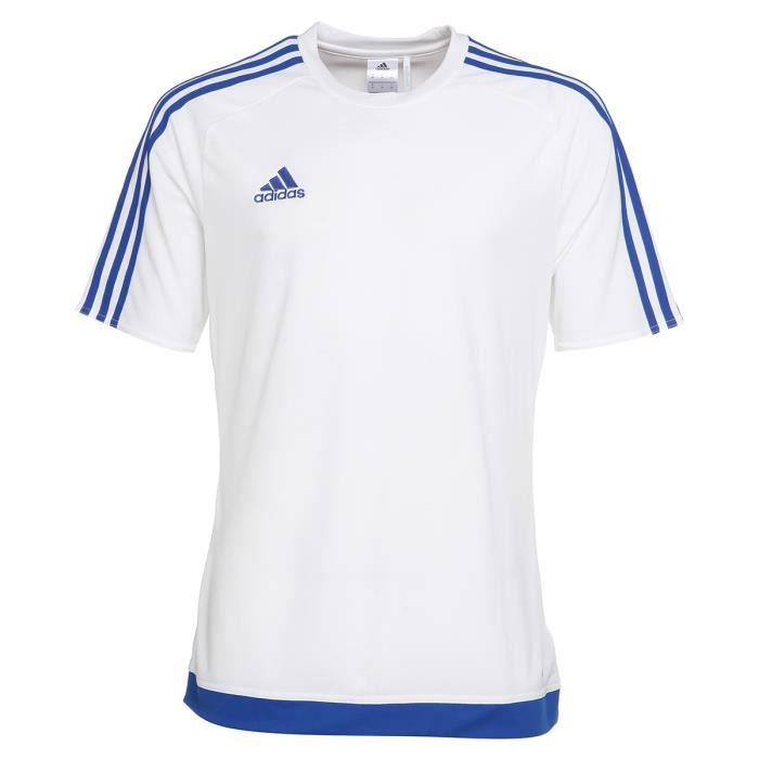 ADIDAS Maillot de Football Estro 15 Blanc / Bleu