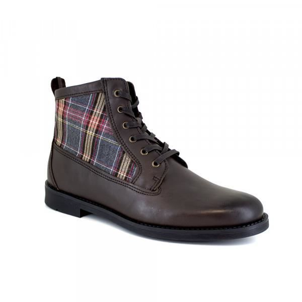 Bottine J.Bradford Cuir Marron JB-BERNI22 - Couleur - Marron