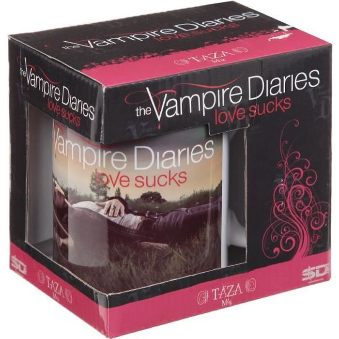 Mug WTT - The Vampire Diaries Personnages sur l'herbe
