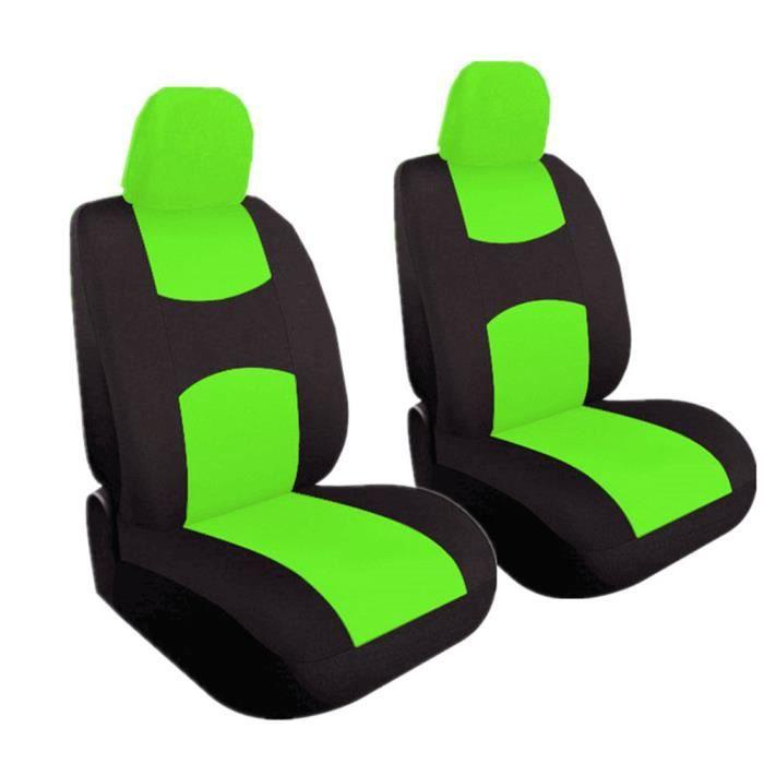Housse de Siège Auto Universelle coussins pour Siège Voiture,auto Protecteur de siège, Couvre Siège voiture - Vert