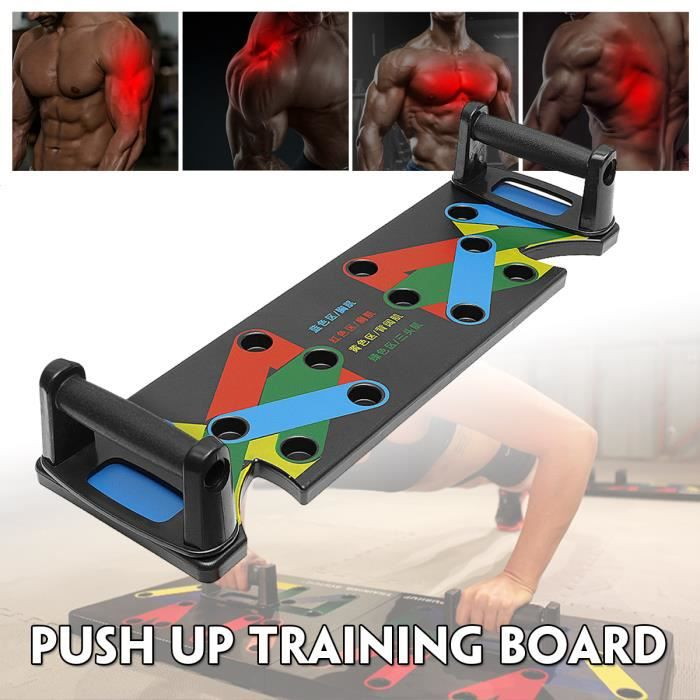 TEMPSA Support de musculation Push up bars exercic domicile bureau sport fitness