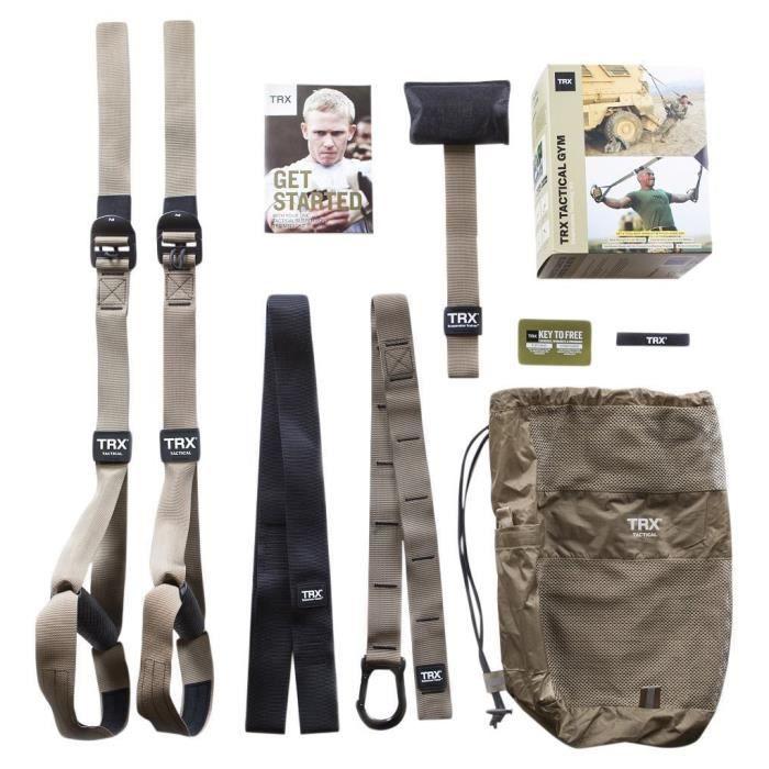 TRX T4 - Kit Force 2 de Suspension - Kaki/Noir
