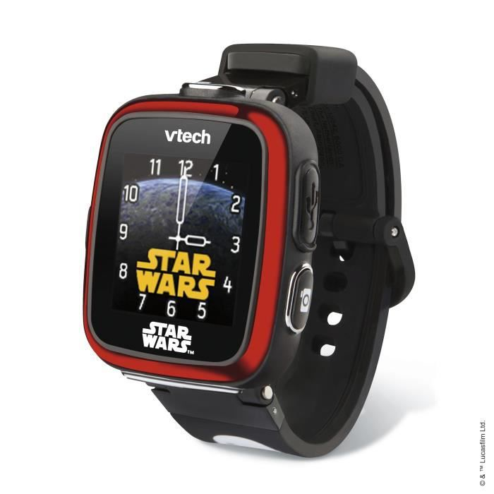 VTECH - Star Wars - Montre Cam'Watch Collector Stormtrooper Noire - Montre Enfant