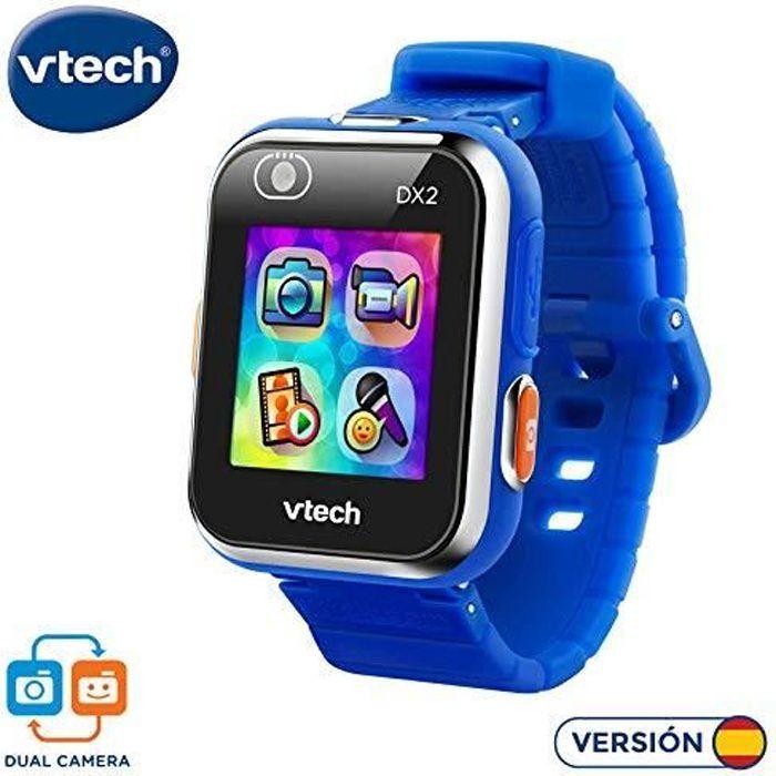 VTech Kidizoom Smart Watch DX2 montre intelligente pour enfants avec Double appareil photo Estandar bleu, 80-193822 80-18252
