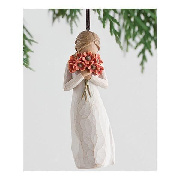 FIGURINE WILLOW TREE ENTOURE D'AMOUR (a suspe…