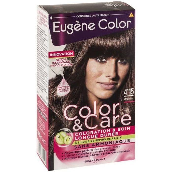 EUGENE COLOR Kit de coloration chocolat