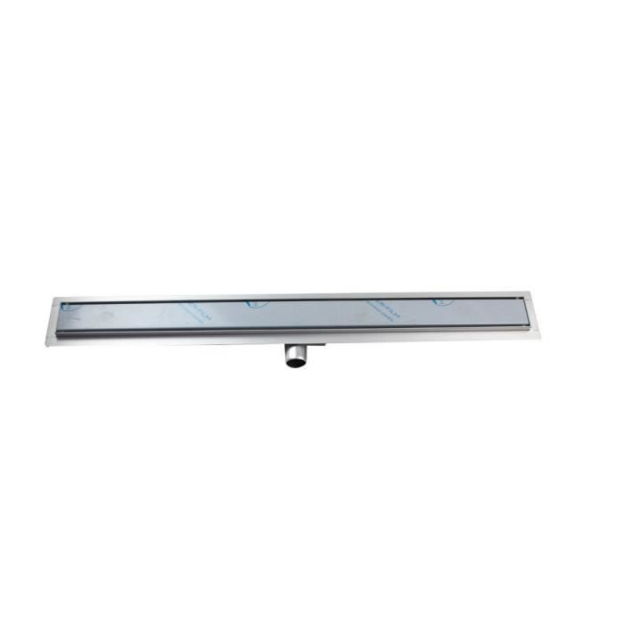 Caniveau inox exterieur good bluestone inox with caniveau for Siphon douche italienne inox