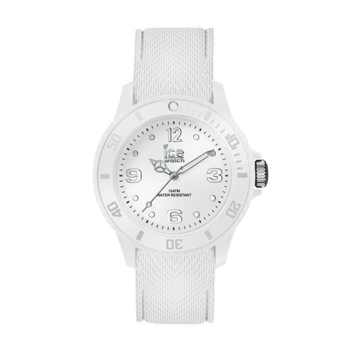 5115d151084e1 Ice-Watch - ICE sixty nine White - Montre blanche pour femme avec bracelet  en silicone - 014577 (Small)
