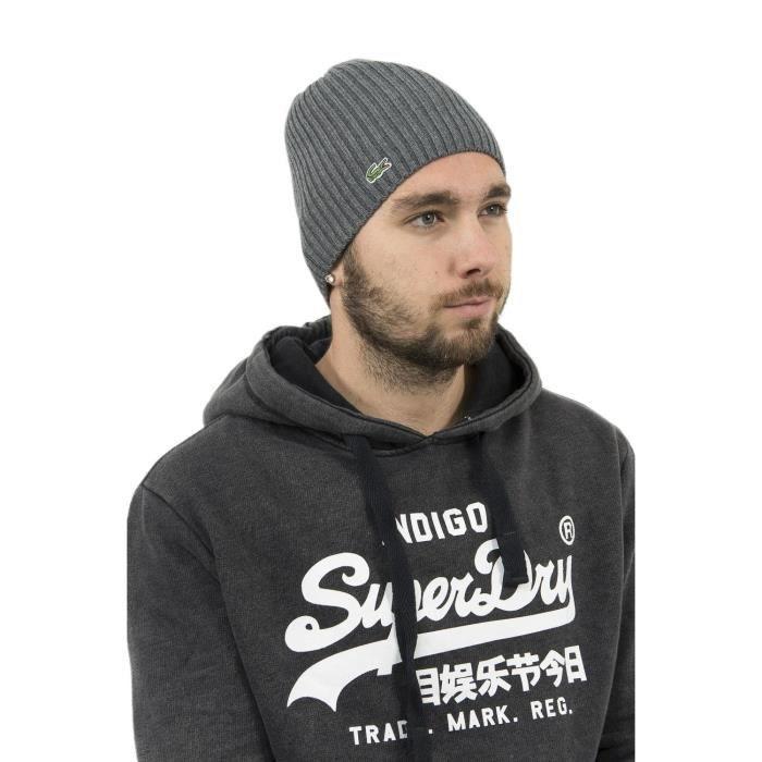 Bonnets lacoste rb3504 gris Gris , Achat / Vente bonnet