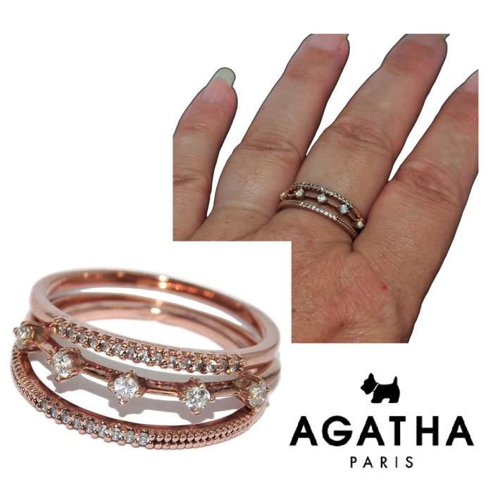 agatha bague diamant
