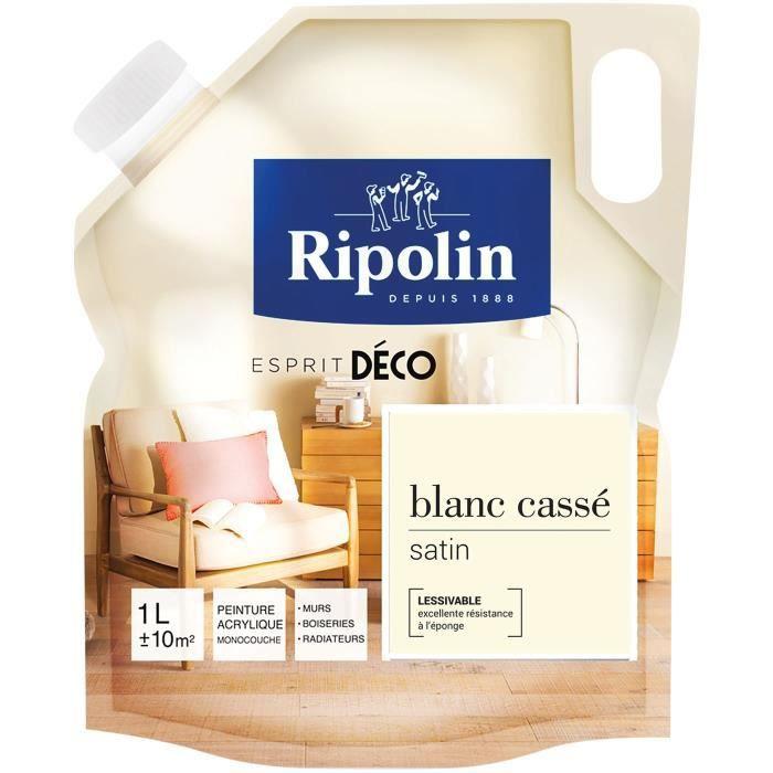Rip Deco Multi Supports Satin 1l Blanc Cassé
