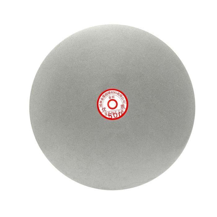 sourcingmap/® 200mm grain 60 8 rev/êtement Diamant Plat tour roue Disque Disque pon/çage meulage