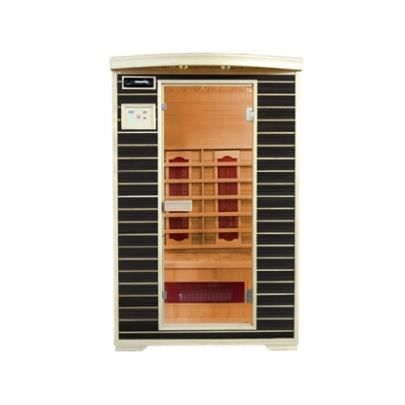 Sauna infrarouge 2 places wengu angel ii achat vente kit sauna sauna inf - Sauna infrarouge prix ...