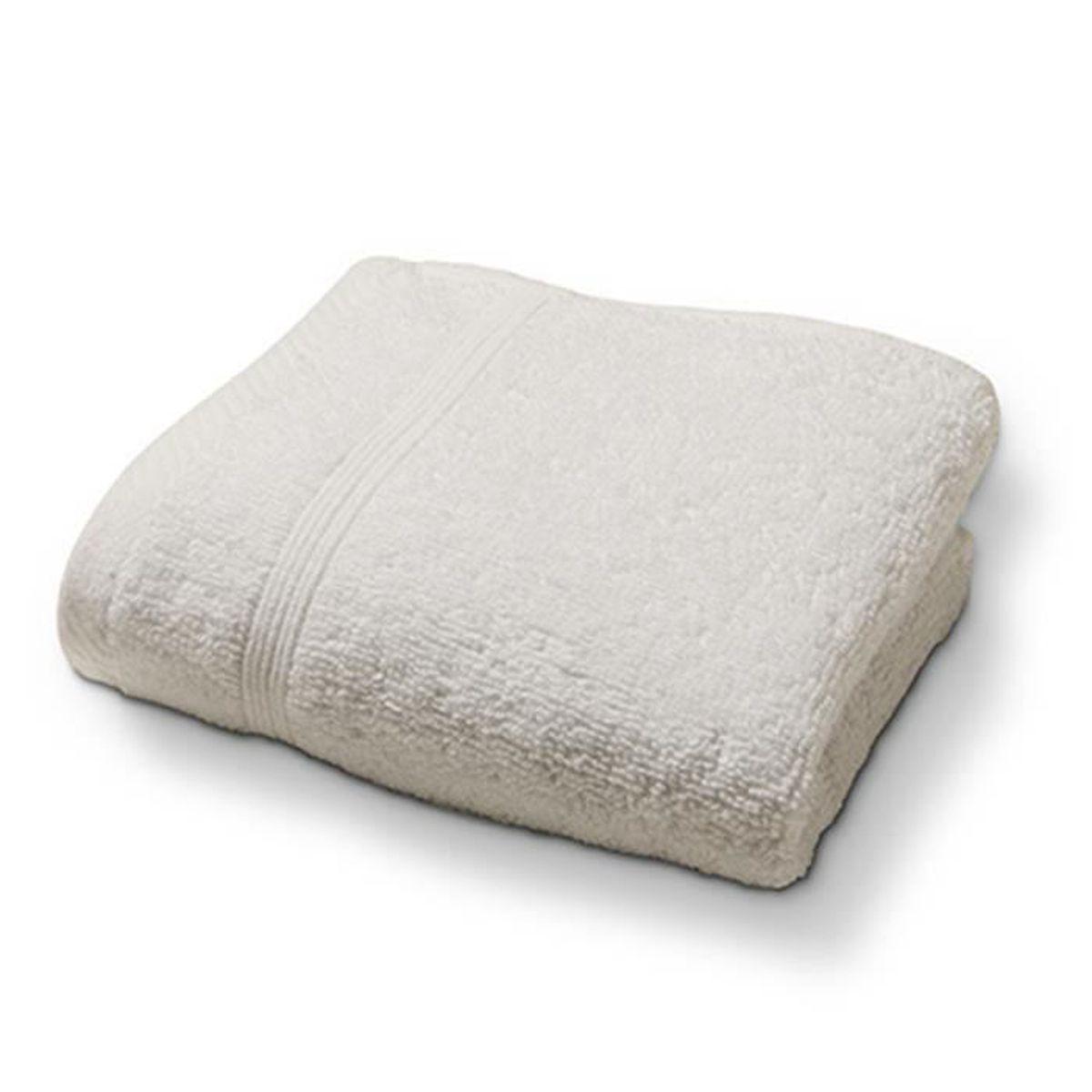 SERVIETTES DE BAIN TODAY Drap de douche 70x130 100% coton Ivoire