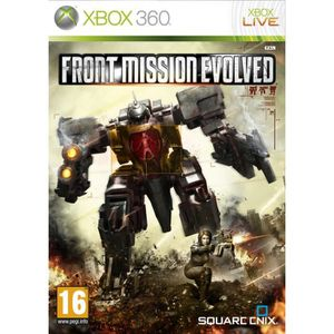 JEUX XBOX 360 FRONT MISSION EVOLVED X360