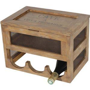 CAVE À VIN Antic Line - Cave à vin et fromage en bois et gril