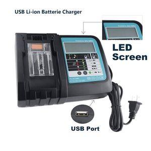 Adaptateur USB-Port De Puissance De Sortie 2.1 A charge téléphone//pour MILWAUKEE M18 18 V Batterie