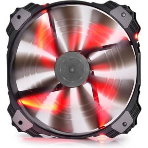 VENTILATION  DEEPCOOL - XFAN 200RD - LED Rouge - Ventilateur bo