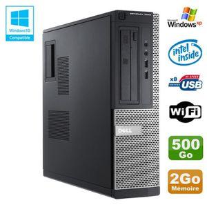 UNITÉ CENTRALE  PC DELL Optiplex 3010 DT Intel G640 2.8Ghz 2Go 500