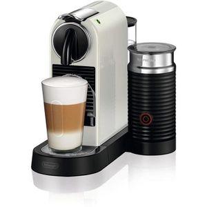 COMBINÉ EXPRESSO CAFETIÈRE Machine à café à capsules programmable 1710W blanc