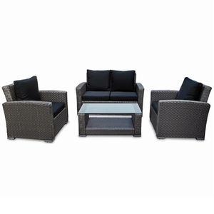 Table et chaise de jardin Plastique - résine - Achat / Vente ...