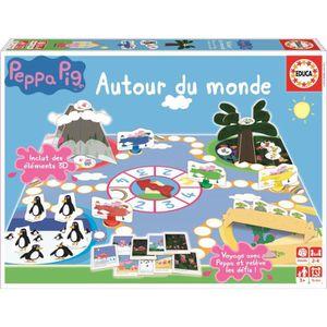 JEU D'APPRENTISSAGE PEPPA PIG Jeu Peppa Autour Du Monde