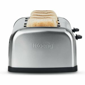 GRILLE-PAIN - TOASTER Grille pain 4 fentes H.KOENIG TOS14